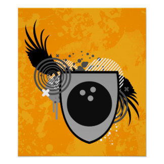 HifiBowlings-Wappen Poster
