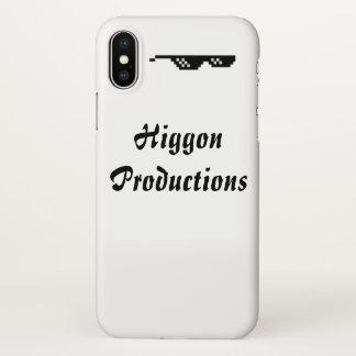Higgon Produktionen iPhone X glatter Fall iPhone X Hülle