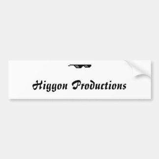 Higgon Produktions-Autoaufkleber Autoaufkleber