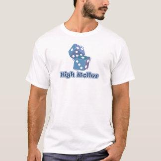 High Roller - Würfel-Spiele T-Shirt
