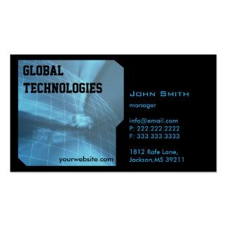 High-Teche Digital-Erdtechnologie-Visitenkarte
