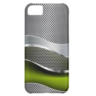 High-Teche futuristische Maschen-Chrom-Säure iPhone 5C Schale