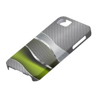 High-Teche futuristische Maschen-Chrom-Säure iPhone 5 Etuis