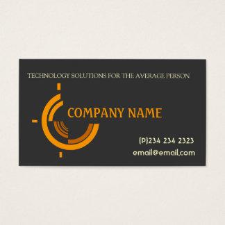 High-Teche Tri Company fördernd Visitenkarte