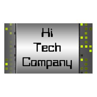 High-Teche Visitenkarten