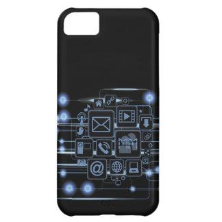 High-Techer Konzept-Initialen iPhone 5 c Fall iPhone 5C Hülle