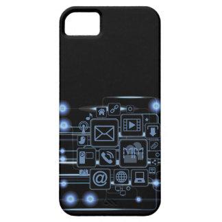 High-Techer Konzept-Initialen iPhone 5 Fall iPhone 5 Hüllen
