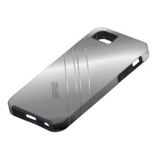 High-Techer metallischer silberner iPhone 5 Schutzhülle