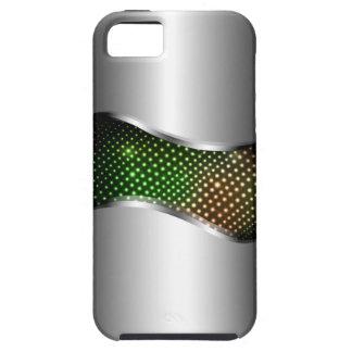 High-Teches metallisches Chrom-Sturzfluggrün Tough iPhone 5 Hülle