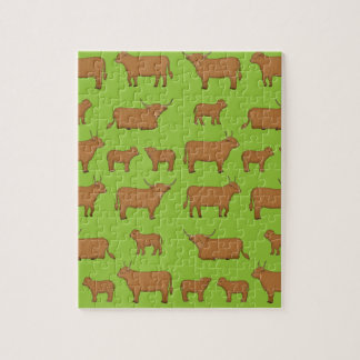 Highland Cattle Puzzle