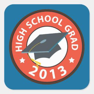 Highschool Abschluss Stickers