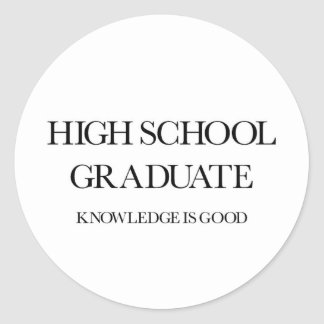 Highschool Absolvent Aufkleber