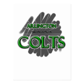 Highschool Arlingtons Colts - Arlington, TX Postkarte