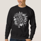Highschool des A&D eingebrannten Sweatshirt