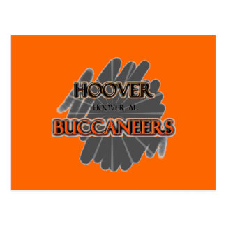Highschool Hoovers Buccaneers - Hoover, AL Postkarte