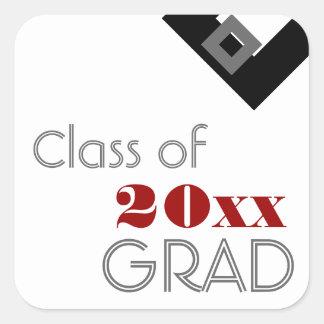 Highschool oder Uni-Abschluss-Geschenk-Umbau Aufkleber