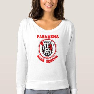Highschool Pasadenas Frauen-Jersey-Rosa T-shirt