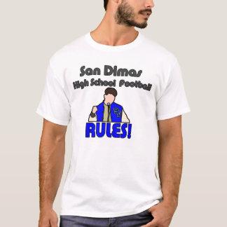 Highschool San Dimas Fußball ORDNET Shirt an