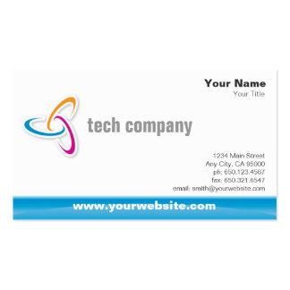 Hightech- Visitenkarte