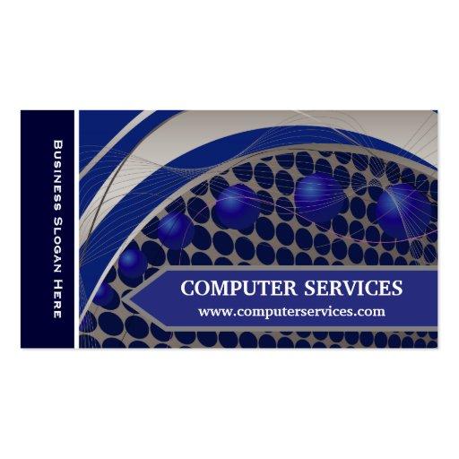 Hightech- Visitenkarten