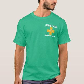 Hilfe-Fahrrad-Team T-Shirt