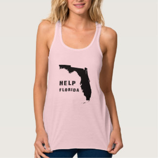 Hilfe Florida nach Hurrikan Irma Tank Top