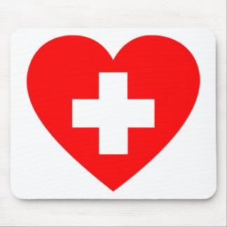 Hilfe-Herz Mousepad