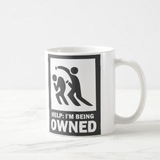 Hilfe: Ich werde BESESSEN Kaffeetasse