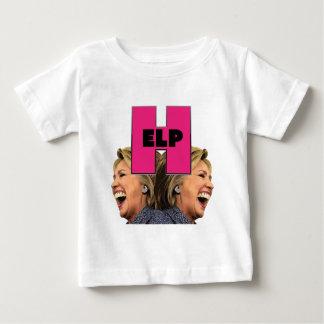 HILFE ist es HILLARY Baby T-shirt