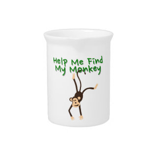 Hilfe meinen Affen finden Krug