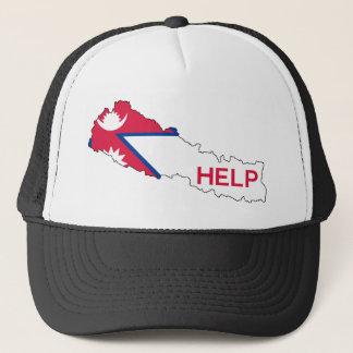 Hilfe Nepal! Truckerkappe