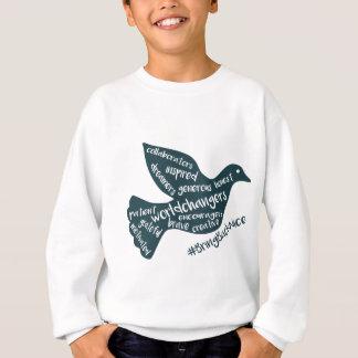 Hilfe wachsen die Bewegung zum #BringBackNice! Sweatshirt