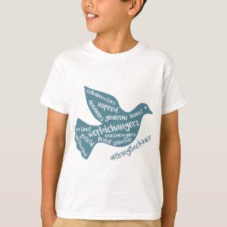 Hilfe wachsen die Bewegung zum #BringBackNice! T-Shirt