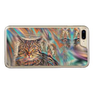 Hilflos Farbin der tropischen Carved iPhone 8 Plus/7 Plus Hülle