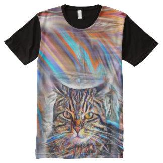 Hilflos Farbin der tropischen T-Shirt Mit Komplett Bedruckbarer Vorderseite