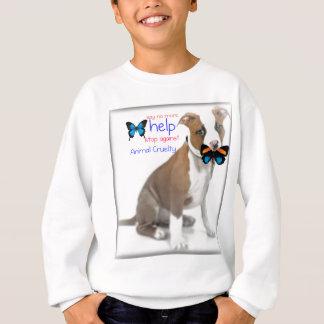 Hilfsunterstützung gegen Tiergrausamkeit Sweatshirt