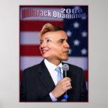 Hillarack Obamaton Posterdrucke