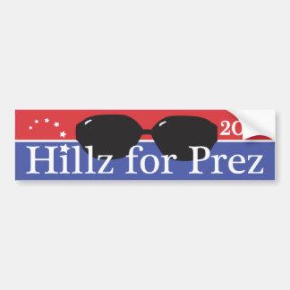 Hillary 2016 autoaufkleber