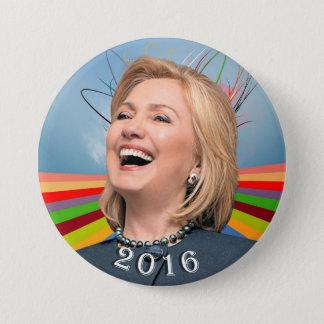 Hillary 2016 runder button 7,6 cm