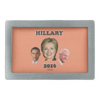 Hillary_Bill_Barack Rechteckige Gürtelschnallen