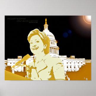 Hillary Clinton 2008 Poster