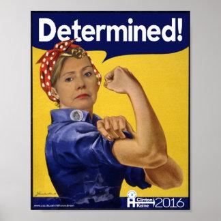 Hillary Clinton bestimmte! Poster