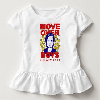 Hillary Clinton-Bewegung über Kleinkind T-shirt