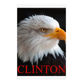 Hillary Clinton Eagle Briefpapier