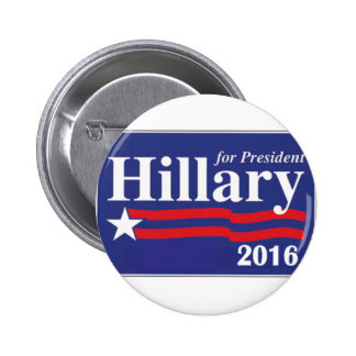 Hillary Clinton für Button Präsidenten-2016 Knopf