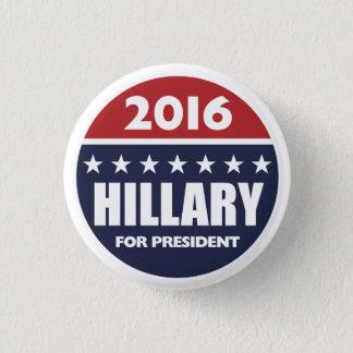 Hillary Clinton für Präsidenten 2016 Runder Button 3,2 Cm