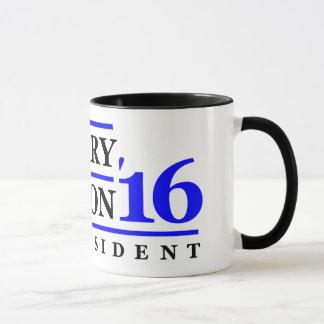 Hillary Clinton für Präsidenten 2016 Tasse