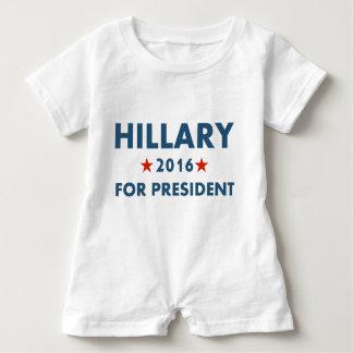 Hillary Clinton für Präsidenten Strampler