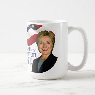 Hillary Clinton für Tasse 2016 Präsidenten-Kaffee