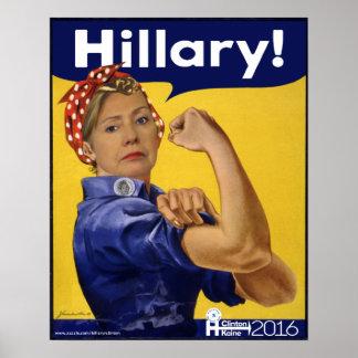 Hillary Clinton Hillary! Poster
